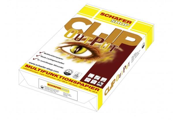 Multifunktionspapier CLIP OutPut, A4 - 500 Blatt
