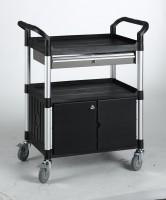 Tischwagen Matador, mit Schublade und Schrank