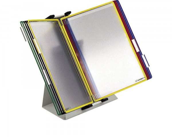 Tischständer-Set tarifold, mit 10 Sichttafeln
