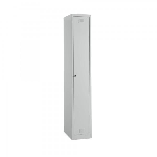 Garderobenspind, 1-türig - Kleiderstange/Einlegeböden
