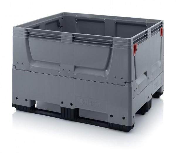Palettenbox AUER Big Box, geschlossen - 1200 x 1000 x 790