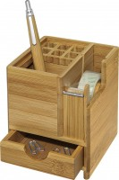 Tischorganizer WEDO Bambus, inkl. Klebefilm