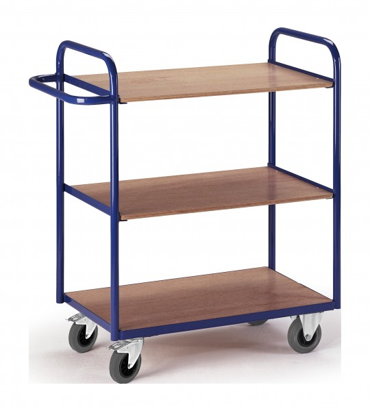 Etagewagen Rollcart, drei Etagen