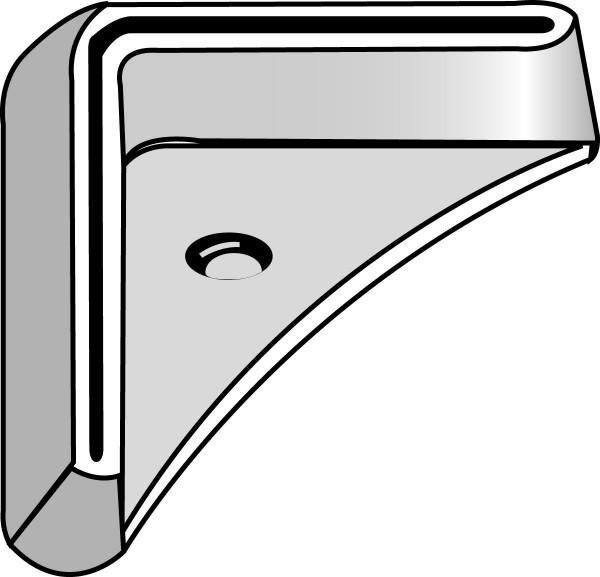 Fußplatten SSI Schäfer FIX, L-förmig