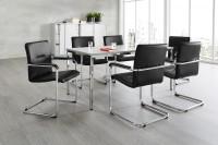 Komplettset Rumba, 6 Stühle & Konferenztisch