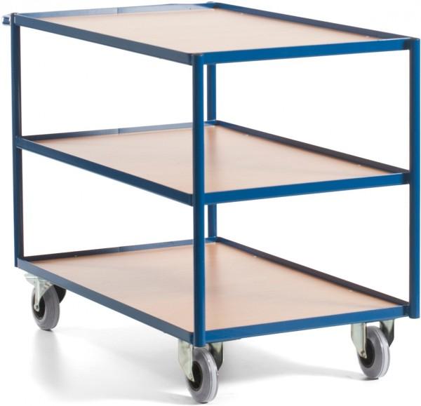 Tischwagen Rollcart, drei Etagen - Tragkraft 250 kg