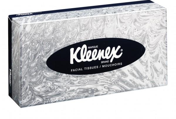 Kosmetiktücher von Kleenex®, 100 Blatt/Box