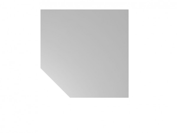 Trapezplatte für Schreibtisch ULM