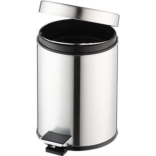 Tret-Abfalleimer mit Kunststoffeinsatz, 3 l