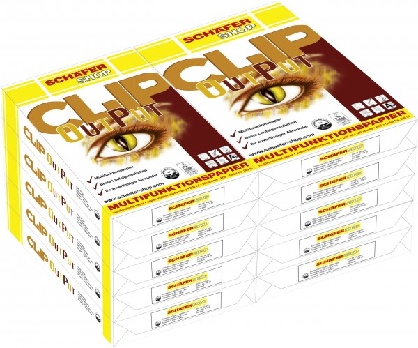 Multifunktionspapier CLIP OutPut, A4 - 5000 Blatt