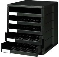 Schubladenbox Ninkaplast, DIN A4, 5 Schubladen