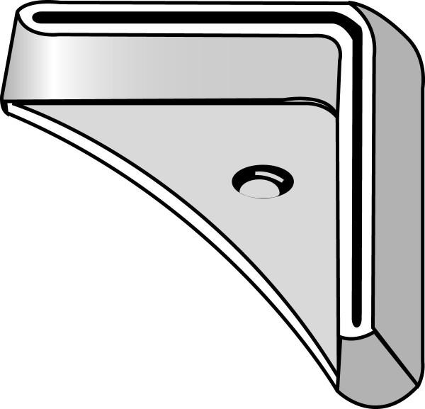 Fußplatten SSI Schäfer FIX, Stahl verzinkt
