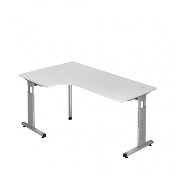 Eck-Schreibtisch ULM, man. höhenverstellbar