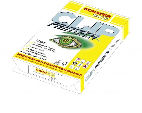 Premiumpapier CLIP Printech, 80g - 500 Blatt
