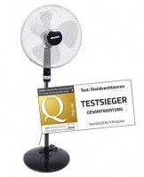 Standventilator Black 16″, Ø 430 mm, 50 W
