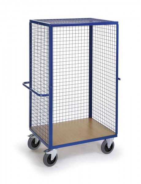 Gitter-Regalwagen Rollcart, offen