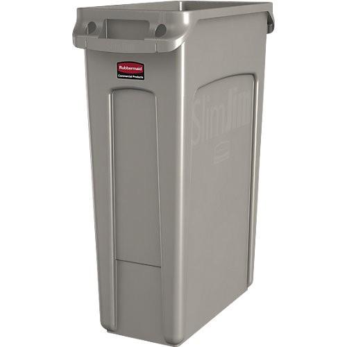 Abfallbehälter Rubbermaid Slim Jim, 87 l