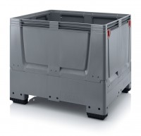 Palettenbox AUER Big Box, geschlossen - 1200 x 1000 x 1000