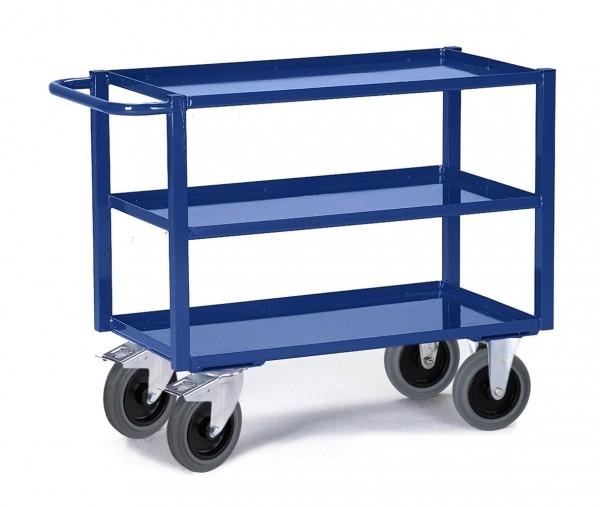 Tischwagen Rollcart, drei Etagen - Tragkraft 400 kg