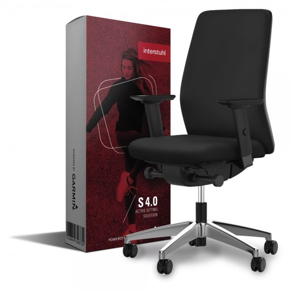 Bürostuhl interstuhl AIMis1, inkl. Sitzsensor S 4.0