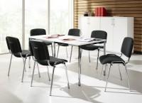 Komplettset ISO Basic, 6 Stühle & Konferenztisch