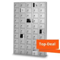 Wertfachschrank, 10 oder 50 Fächer - inkl. Schlüsseln