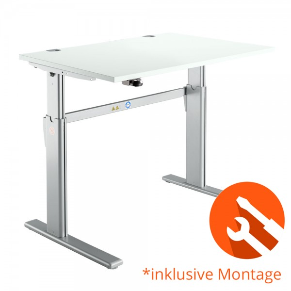 Schreibtisch, elektr. höhenverstellbar