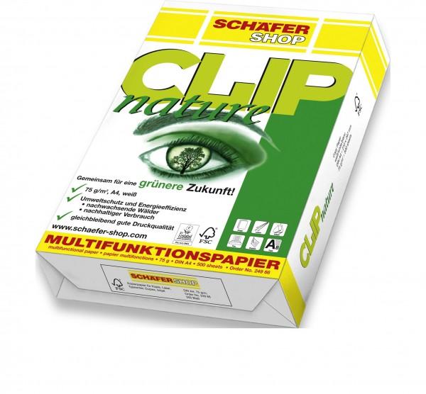 Kopierpapier CLIP nature, 75g - 2500 Blatt